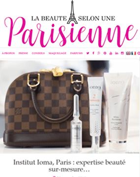 160928_Boutique IOMA_Beauté parisienne_pagedegarde
