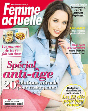 161107-Youth Pearl essence - femme actuelle- pagedegarde