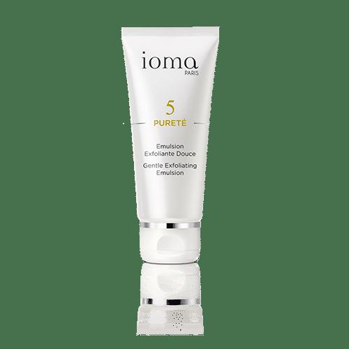 ioma-emulsion-exfoliante-douce-soins-visage-cosmetique-personnalisee-mag-detox